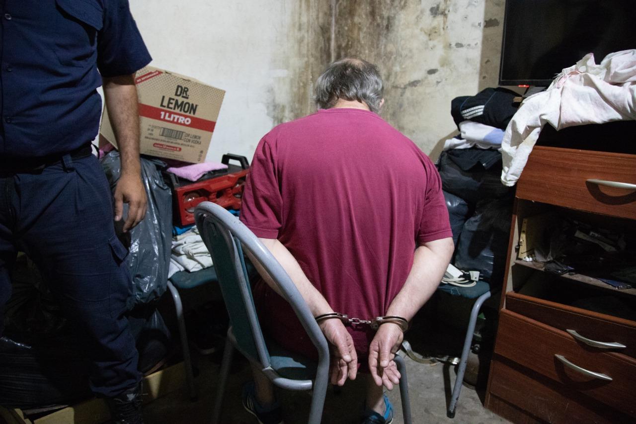 Detenidos por drogas y armas de fuego en allanamientos