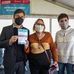 Kicillof en Quilmes: casi 100 mil vacunados en el distrito