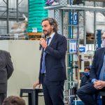 Cafiero anunció en Berazategui una línea de financiamiento para pymes