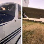 Atacaron con ametralladoras una avioneta en Berazategui