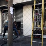 Se incendió el local Juanita Jo de Quilmes centro