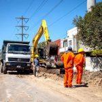 Avanza la obra de asfalto de 73 cuadras en Ezpeleta